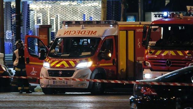 IS-Terror in Paris: Polizist und Angreifer getötet (Bild: AFP)