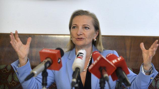 """Ulrike Rabmer-Koller: """"Neuwahldiskussionen verhindern sachorientierte Lösungen."""" (Bild: APA/HERBERT PFARRHOFER)"""