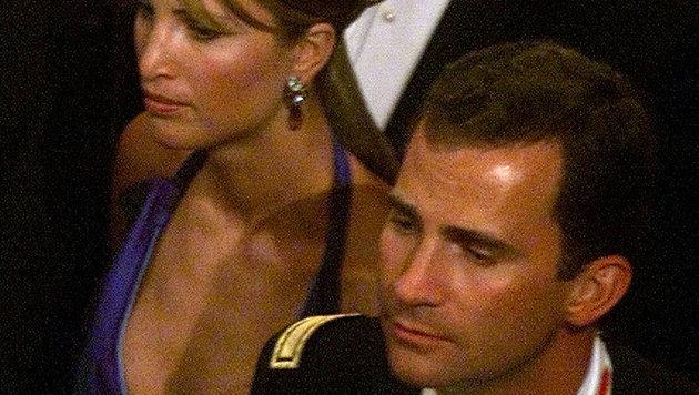 Felipe und seine Ex-Freundin Eva Sannum (Bild: AP)