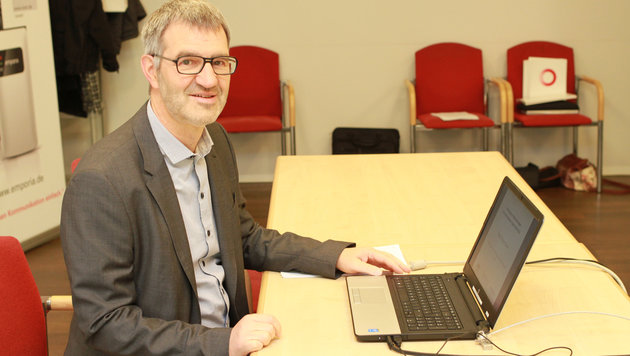 Professor Rudolf Winter-Ebmer von der Linzer Kepler-Uni (Bild: Christoph Gantner)