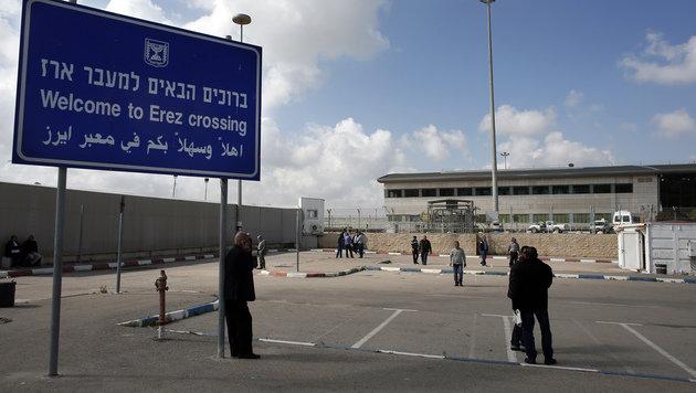 Der Grenzübergang bei Erez (Bild: AFP)