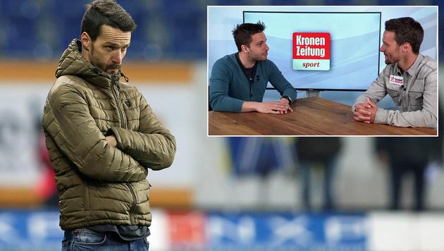 """Lederer nach Admira: """"Blick nach vorne gerichtet!"""" (Bild: GEPA, krone.tv)"""