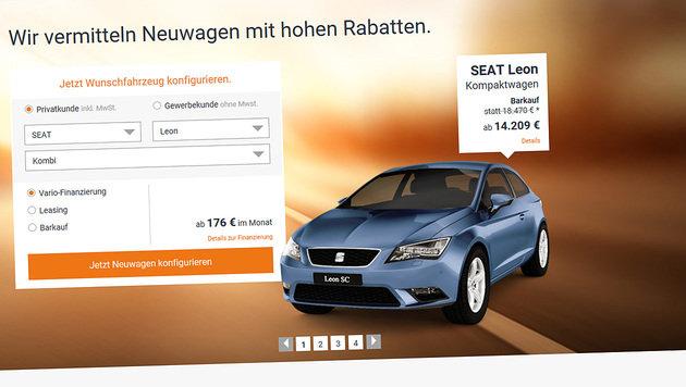 Neuwagen im Netz günstiger als beim Händler (Bild: autohaus24.de)