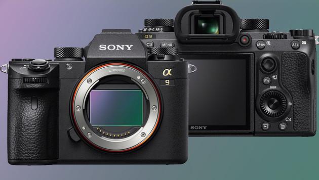 Sony Alpha 9: Systemkamera mit Vollformatsensor (Bild: Sony, krone.at-Grafik)
