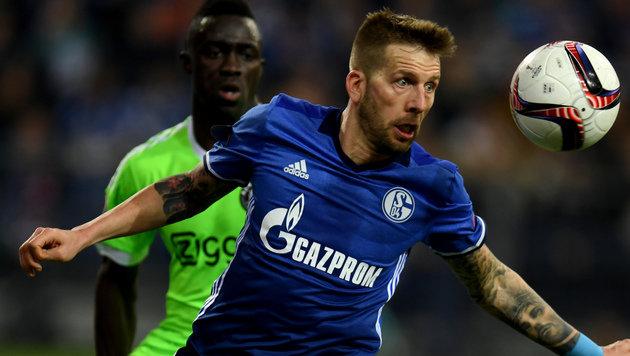 Starker Burgstaller ist zu wenig - Schalke 04 out! (Bild: AFP)