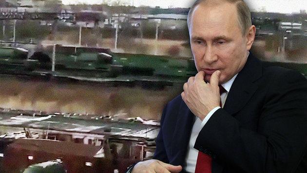 Putin schickt Verstärkung an Grenze zu Nordkorea (Bild: YouTube.com, AFP/DMITRI LOVETSKY)