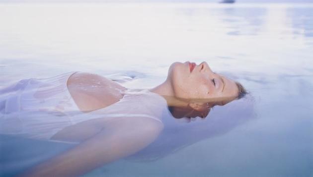 """""""Floating: Entspannen in der Schwerelosigkeit (Bild: facebook.com/TimeOutSpaTimeOutCityHotel)"""""""