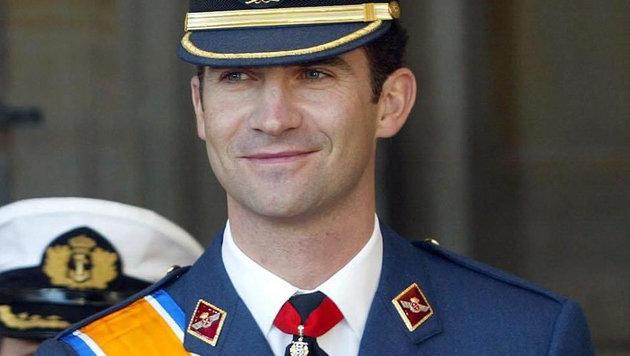 Felipe von Spanien auf einem Foto aus dem Jahr 2002 (Bild: EPA)