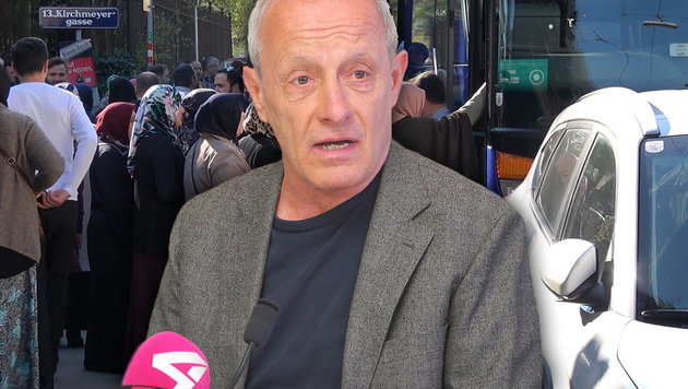 """Pilz über Erdogan-Spitzel: """"Regierung tut nichts"""" (Bild: krone.tv)"""