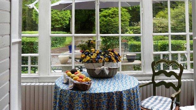 Ein herrlicher Garten umgibt das Anwesen. (Bild: engel & völkers private office / engel & völkers market center p)