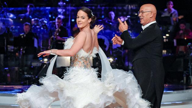 """Otto Retzer und Roswitha Wieland bei """"Dancing Stars"""" (Bild: ORF)"""