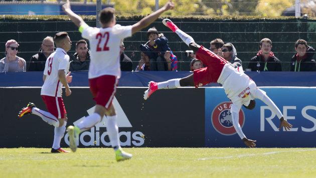 Salzburg wirft Barca raus - jetzt wartet Benfica! (Bild: KEYSTONE/JEAN-CHRISTOPHE BOTT)