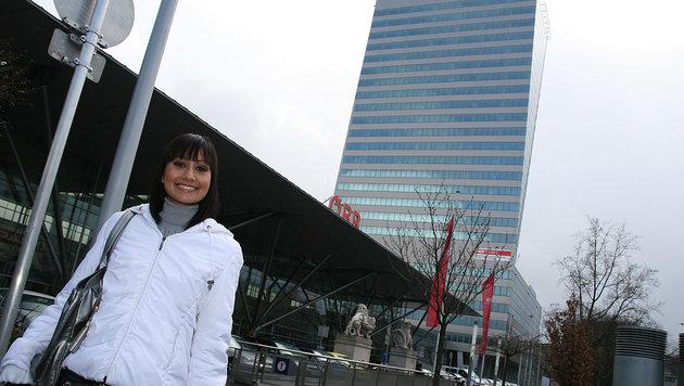 Seit 2008 steht der Termial Tower voll mit Finanz und PVA am Linzer Hauptbahnhof (Bild: Markus Wenzel)
