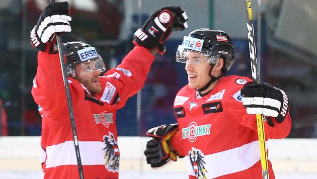 """Eishockey-Herren bei WM: """"Kasachstan schlagbar"""" (Bild: APA/EXPA/THOMAS HAUMER)"""