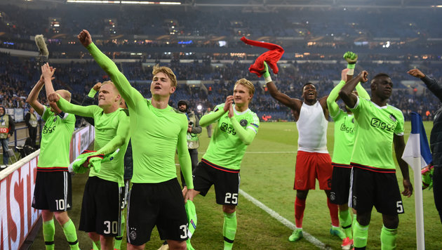 Halbfinale: Ajax in Europa League gegen Lyon (Bild: AFP or licensors)