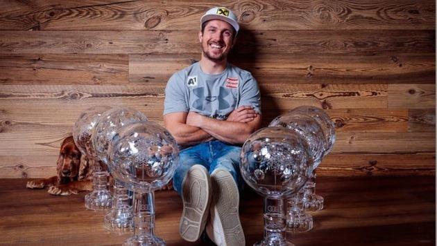 6-facher Gesamtweltcupsieger Marcel Hirscher (Bild: Andreas Tröster)
