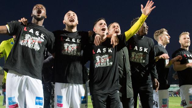 LASK macht Bundesliga-Aufstieg perfekt (Bild: APA/EXPA/REINHARD EISENBAUER)