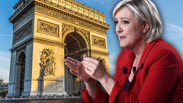 """Le Pen: """"Alle überwachten Ausländer abschieben"""" (Bild: AFP/MARTIN BUREAU, thinkstockphotos.d)"""