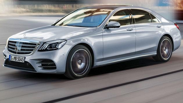 """Mercedes S-Klasse: """"Das Beste"""" noch besser? (Bild: Daimler)"""