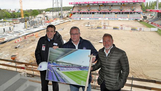 """Neues Austria-Stadion: Rapid """"warnendes Beispiel"""" (Bild: GEPA)"""