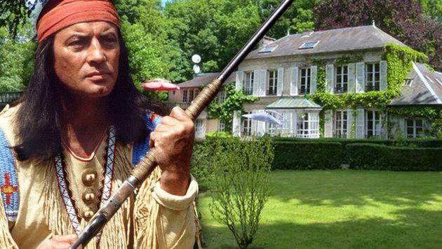 Winnetous Witwe verkauft seine Villa (Bild: engel & völkers private office, AFP/DPA/HORST OSSINGER)