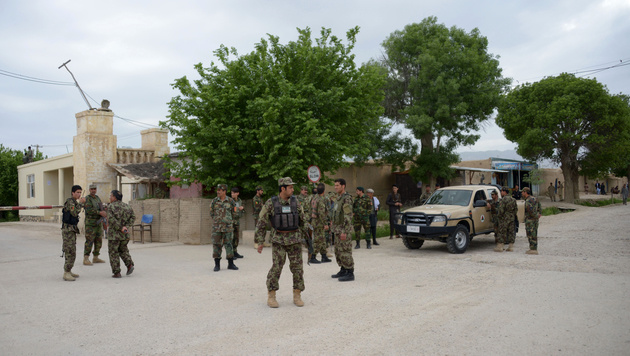 Afghanistan: 50 Tote bei Angriff auf Militärbasis (Bild: AFP)