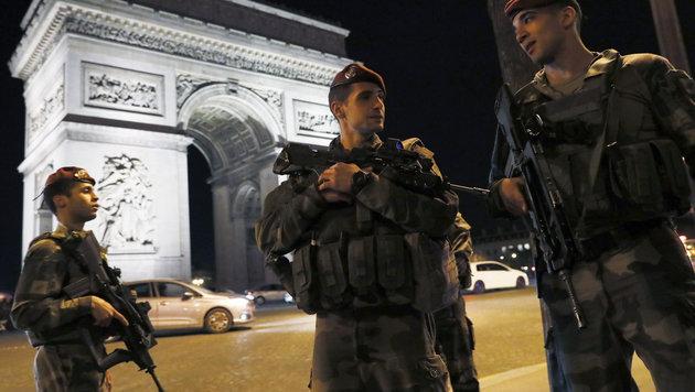 Der sechste Terroranschlag in Paris in drei Jahren (Bild: AFP)