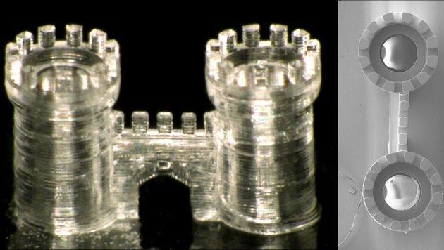 3D-Druck jetzt auch mit Glas möglich (Bild: KIT)