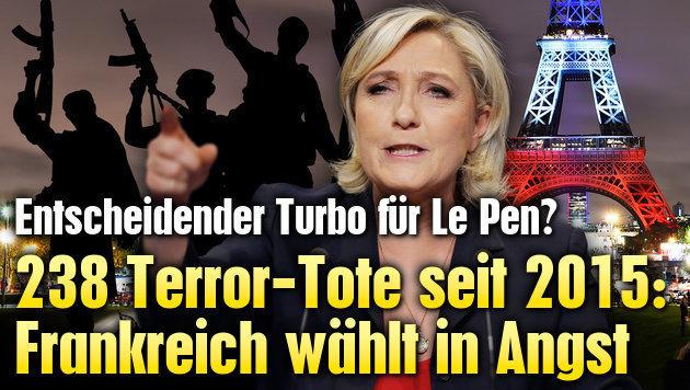 238 Terror-Tote: Frankreich wählt heute in Angst