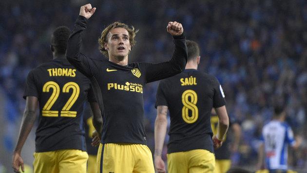 Atletico gewinnt Clasico-Vorspiel gegen Espanyol (Bild: AFP)