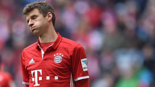 Bayern nur 2:2, Alaba verletzt out - das Video (Bild: AFP)