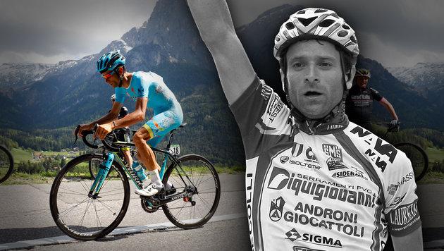 Ex-Giro-Sieger Scarponi stirbt bei Horror-Unfall (Bild: AFP/LUK BENIES, AP/Alessandro Trovati)