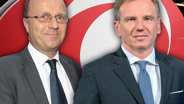 Thomas Prantner (links) und Armin Wolf (Bild: Peter Tomschi, ORF, APA/Georg Hochmuth)