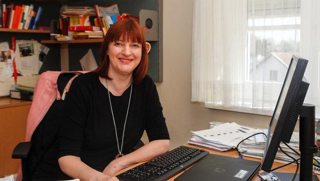 Eva Gaisbauer koordiniert die Einsätze (Bild: Pressefoto Scharinger © Daniel Scharinger)