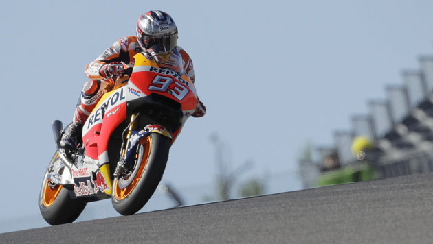 Marquez gewann zum fünften Mal GP von Austin! (Bild: Copyright 2017 The Associated Press. All rights reserved.)