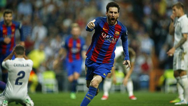 """Messi entschied irren """"Clasico"""" für Barcelona (Bild: AFP)"""