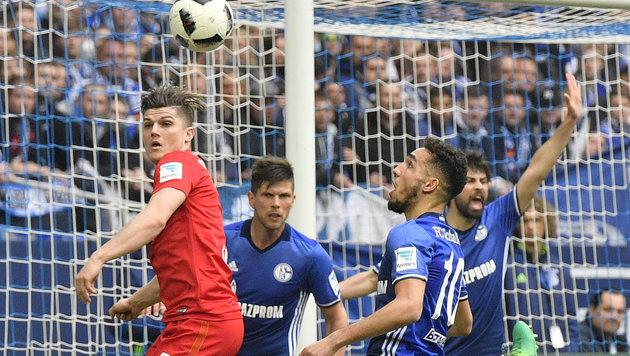 RB Leipzig nach 1:1 gegen Schalke weiter auf Kurs! (Bild: Copyright 2017 The Associated Press. All rights reserved.)