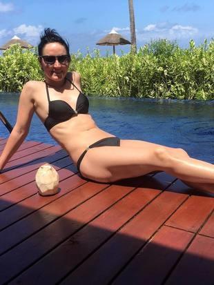 Sportfotos: Seifriedsberger genießt ihren Urlaub (Bild: facebook.com/Jacqueline Seifriedsberger)