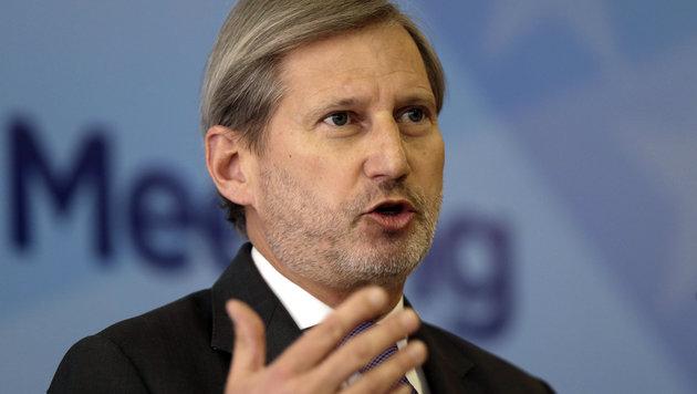 EU-Kommissar Johannes Hahn (Bild: AP)
