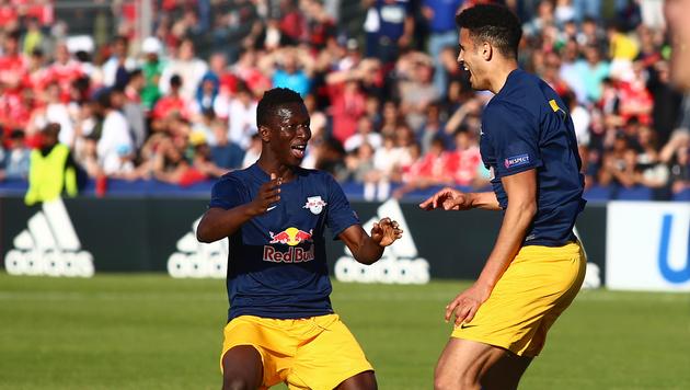 Unglaublich! Salzburg gewinnt Youth-League-Finale (Bild: GEPA)