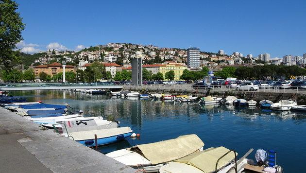 Es gibt zweifellos hässlichere Flecken auf dem Erdenrund als dieses Rijeka... (Bild: Hannes Maierhofer)