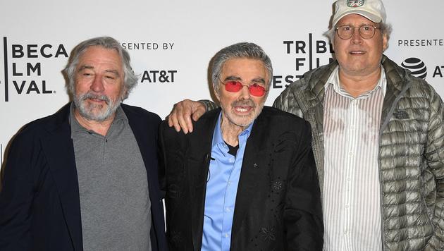 Robert DeNiro, Burt Reynolds und Chevy Chase (Bild: AFP)