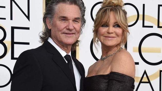 Kurt Russell und Goldie Hawn (Bild: AFP)