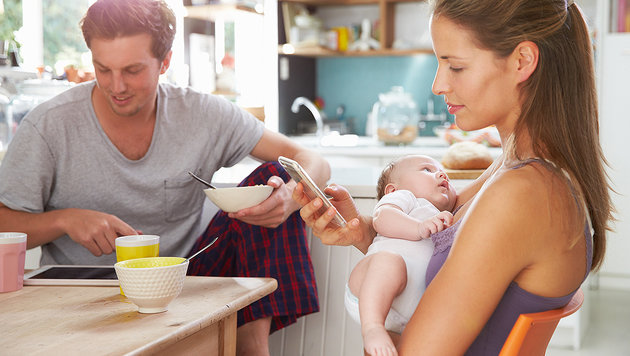 Immer erreichbar zu sein ist zunehmend verpönt (Bild: thinkstockphotos.de)