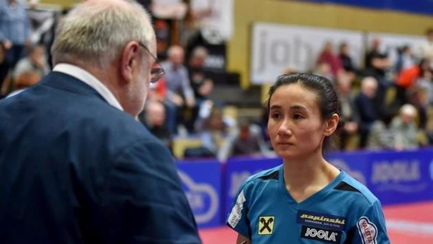 Tischtennis-Aushängeschild Liu Jia und Günther Renner gehen in Zukunft getrennte Wege. (Bild: Harald Dostal)