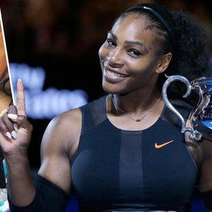 Serena Williams schickt Nachricht an ihr Baby (Bild: AP)