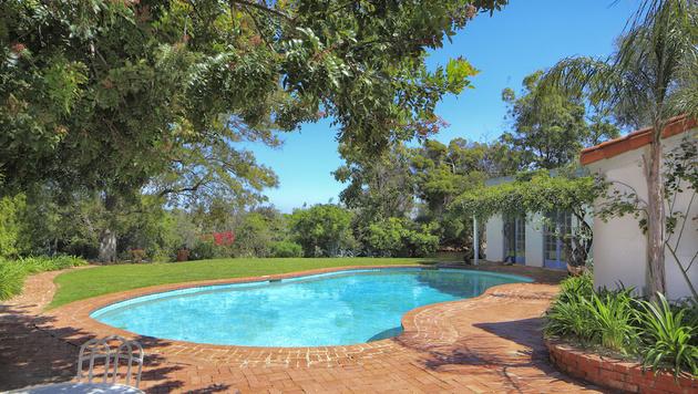 Laut Maklerfirma badete Monroe selbst gerne in ihrem Pool. (Bild: Mercer Vine)