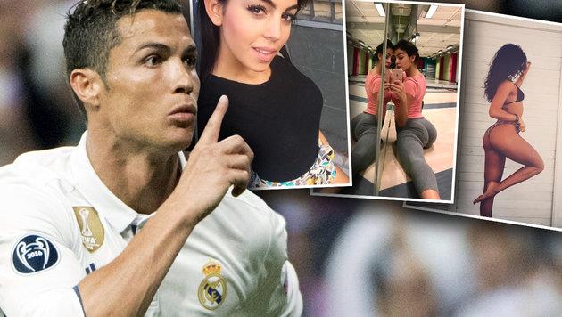 Ronaldo erteilt seiner sexy Freundin Party-Verbot! (Bild: AFP/CURTO DE LA TORRE, instagram.com)