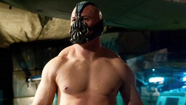 "Tom Hardy als Bane in ""The Dark Knight Rises"" (Bild: Viennareport)"