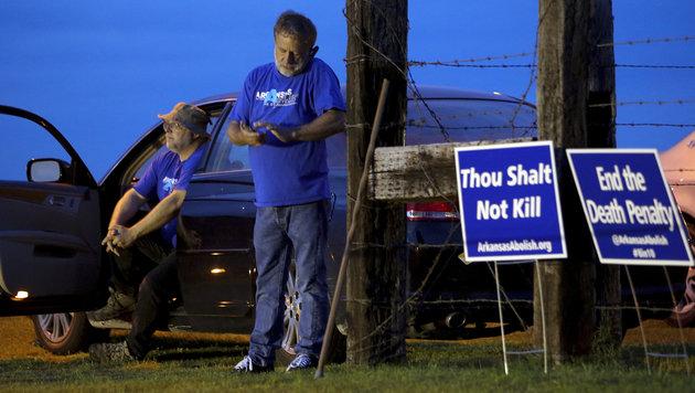 """""""Fließband-Hinrichtungen"""" in Arkansas gehen weiter (Bild: STEPHEN B. THORNTON)"""